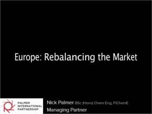 Rebalancing-the-market